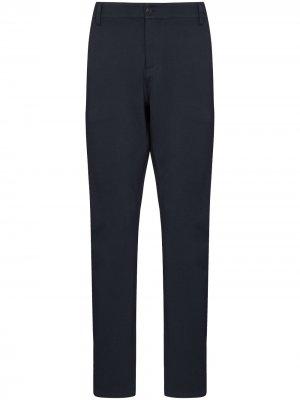Прямые брюки чинос PAIGE. Цвет: синий
