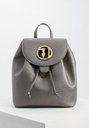 Рюкзак Trussardi Jeans. Цвет: серый