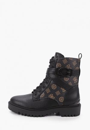Ботинки Guess. Цвет: черный