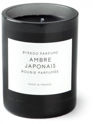 Свеча Ambre Japonais Byredo. Цвет: черный