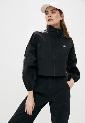 Ветровка adidas Originals. Цвет: черный