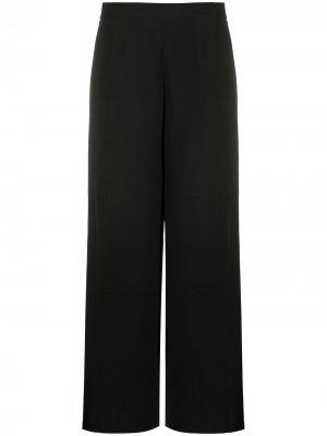 Расклешенные брюки с завышенной талией Federica Tosi. Цвет: черный