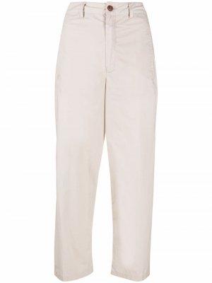 Укороченные брюки кроя слим Closed. Цвет: нейтральные цвета