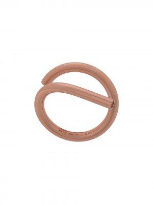 Витое кольцо Maison Margiela. Цвет: розовый