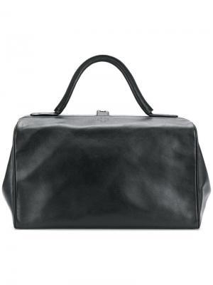Структурированная сумка-тоут A.F.Vandevorst. Цвет: черный