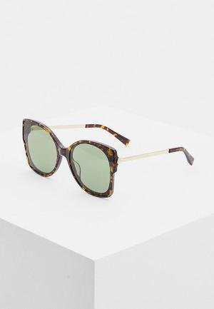 Очки солнцезащитные Max&Co. Цвет: коричневый
