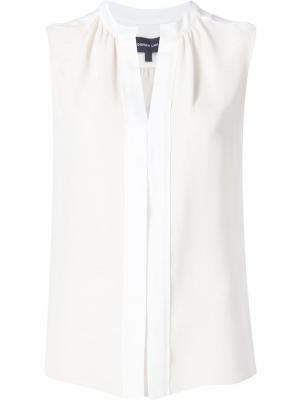 Блузка без рукавов Derek Lam. Цвет: нейтральные цвета