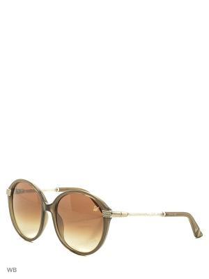 Солнцезащитные очки SK 0044 20F Swarovski. Цвет: серый, серебристый
