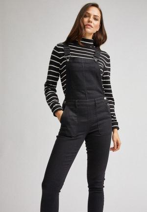 Комбинезон джинсовый Dorothy Perkins. Цвет: черный
