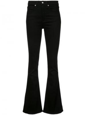 Расклешенные джинсы Veronica Beard. Цвет: черный