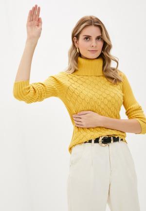 Водолазка Passioni. Цвет: желтый