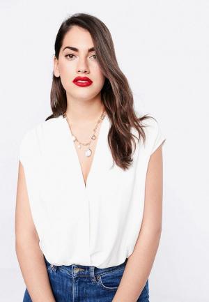 78458923389c80d Белые женские боди-блузки купить в интернет-магазине LikeWear Беларусь
