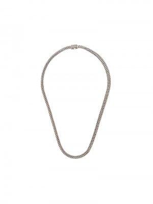Classic Chain small necklace John Hardy. Цвет: серебристый