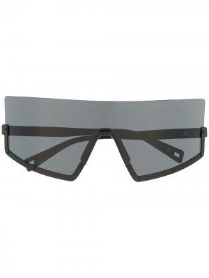 Солнцезащитные очки-маска Stun 05 Westward Leaning. Цвет: черный