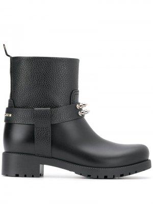 Ботинки с заклепками Philipp Plein. Цвет: черный
