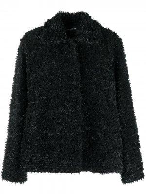 Куртка из шерпы Rochas. Цвет: черный