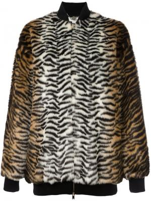 Куртка-бомбер Sabine Stella McCartney. Цвет: коричневый