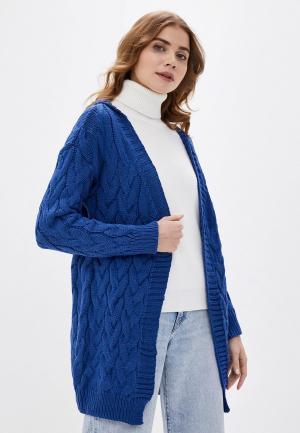 Кардиган Fresh Cotton. Цвет: синий
