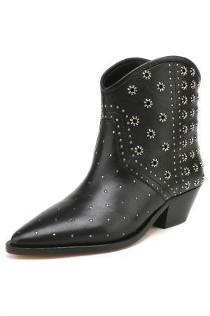 Ботинки ISABEL MARANT. Цвет: черный
