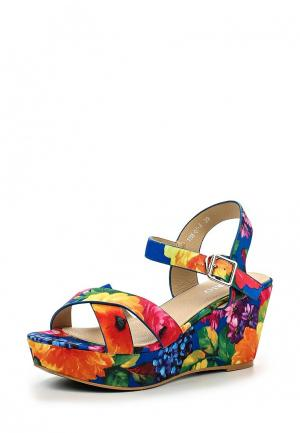 Босоножки Inario. Цвет: разноцветный