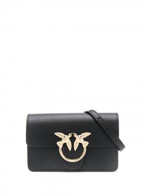 Поясная сумка Pinko. Цвет: черный