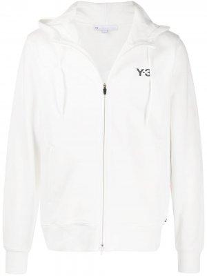 Худи с принтом Y-3. Цвет: белый