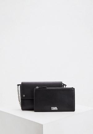 Комплект Karl Lagerfeld. Цвет: черный