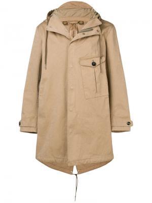 Пальто в стиле оверсайз Ten C. Цвет: нейтральные цвета