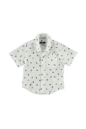 Рубашка Sarabanda. Цвет: кремовый