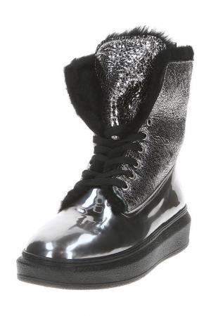 Ботинки AQUAMARIN. Цвет: серебряный