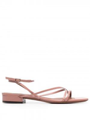 LAutre Chose сандалии с ремешками L'Autre. Цвет: розовый