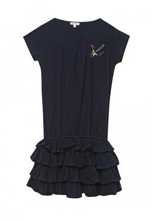 Платье 3 Pommes. Цвет: синий
