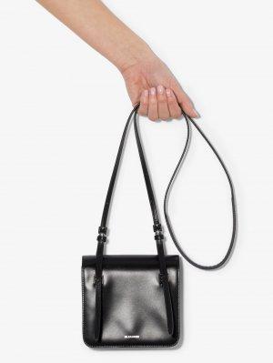 Маленькая сумка на плечо Holster Jil Sander. Цвет: черный