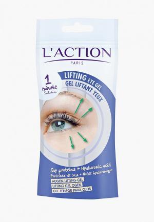 Гель для кожи вокруг глаз LAction L'Action. Цвет: прозрачный