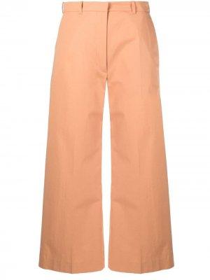 Укороченные брюки Kenzo. Цвет: оранжевый