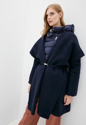 Пальто Add. Цвет: синий