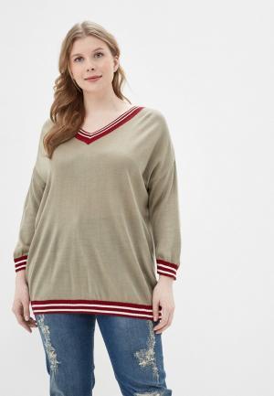 Пуловер Intikoma. Цвет: хаки