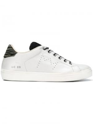 WLC063 sneakers Leather Crown. Цвет: металлик