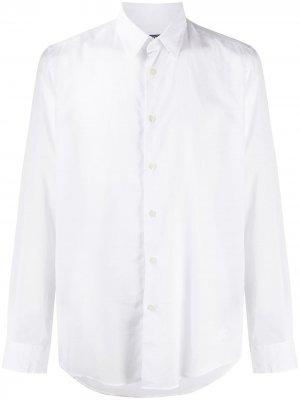 Рубашка с вышитым логотипом Vilebrequin. Цвет: белый