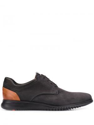 Ботинки на шнуровке со вставками Lloyd. Цвет: черный