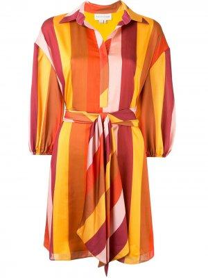 Платье-рубашка Ilana Sachin & Babi. Цвет: красный