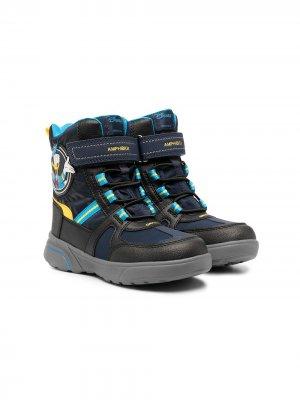 Ботинки Amphibiox из коллаборации с Disney Geox Kids. Цвет: синий