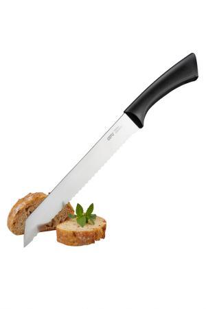 Нож для хлеба GEFU. Цвет: черный