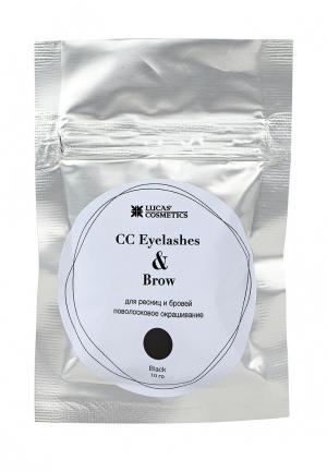 Хна для бровей CC Brow. Цвет: черный