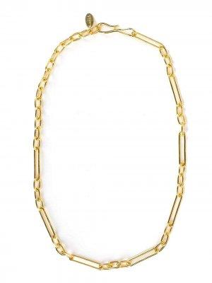 Короткая цепочка на шею Lizzie Fortunato Jewels. Цвет: золотистый