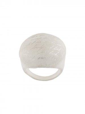 Кольцо Uma Lunar Detaj. Цвет: белый