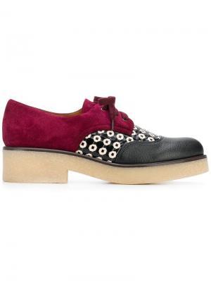 Туфли Yeci на шнуровке Chie Mihara. Цвет: черный
