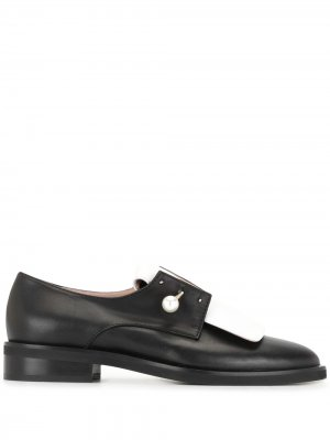 Pearl bar pin oxford shoes Coliac. Цвет: черный