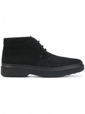 Ботинки Дезерты Tod's. Цвет: черный