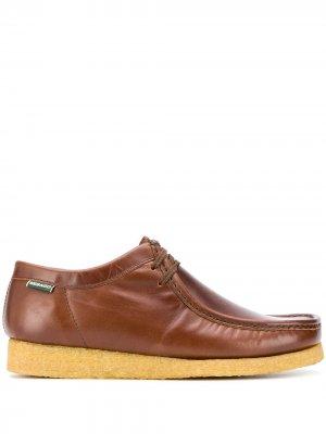 Туфли на шнуровке Sebago. Цвет: коричневый